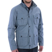 Barbour Utility Jacket - Waterproof (For Men) in Chambray - Closeouts