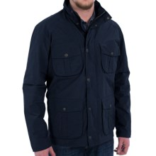 Barbour Utility Jacket - Waterproof (For Men) in Navy - Closeouts