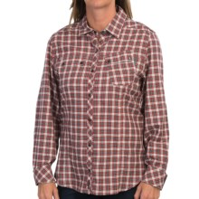 Barbour Vader Shirt - Long Sleeve (For Women) in Red Check - Closeouts