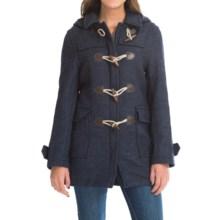 Barbour Vintage Oatridge Classic Duffle Coat (For Women) in Navy - Closeouts