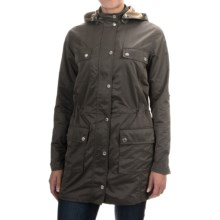 Barbour Viscon Casual Jacket (For Women) in Dark Grey - Closeouts