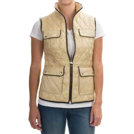Barbour Viscon Quilted Vest (For Women) in Dark Pearl - Closeouts