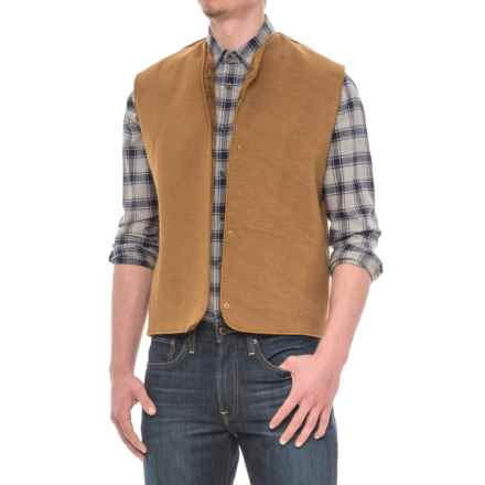 Barbour Warm Pile Lining Vest (For Men) in Brown - Closeouts