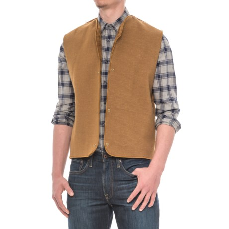 Barbour Warm Pile Lining Vest (For Men) in Brown