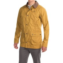 Barbour Washed Slim Bedale Jacket - Cotton (For Men) in Yellow - Closeouts