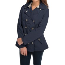 Barbour Waterproof Jacket (For Women) in Navy - Closeouts