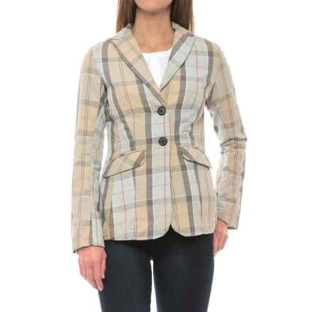 Barbour Wayfaring Blazer (For Women) in Gray - Closeouts