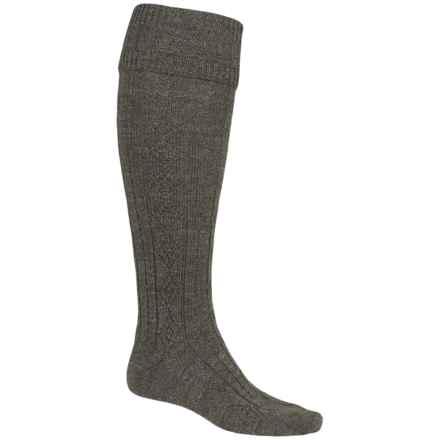 Barbour Wool Blend Knee-High Socks (For Men) in Derby Tweed, Tweed Gun - Closeouts