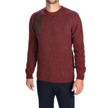 Barbour Woolsington Sweater - Wool Blend, Crew Neck (For Men) in Merlot - Closeouts