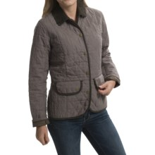 Barbour Wynchwood Quilted Jacket (For Women) in Mocha - Closeouts