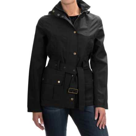 Barbour Wytherstone Belted Jacket - Waterproof (For Women) in Navy - Closeouts