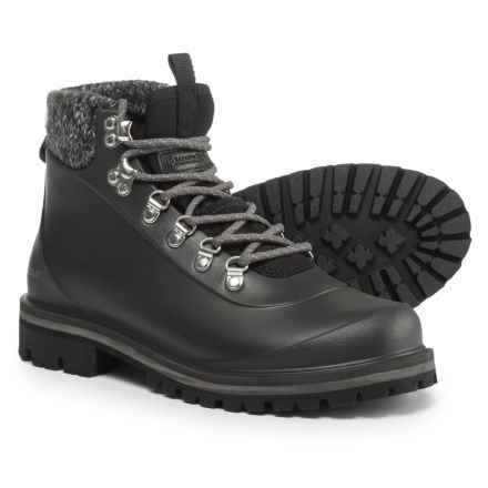 Barbour Zed Hiker Boots - Waterproof (For Women) in Black - Closeouts