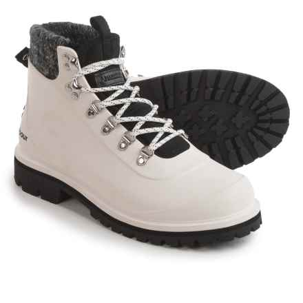 Barbour Zed Hiker Boots - Waterproof (For Women) in White - Closeouts