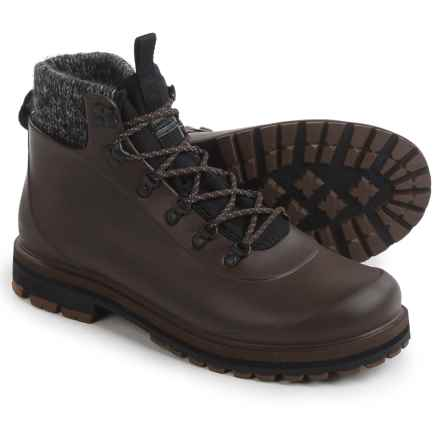 Barbour Zed Hiker Cold Weather Boots - Waterproof (For Men) in Brown - Closeouts