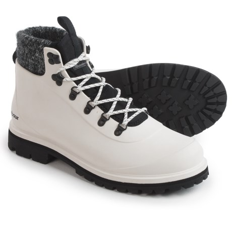 Barbour Zed Hiker Cold Weather Boots - Waterproof (For Men) in White