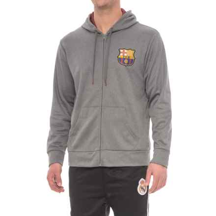 Barcelona Active Hoodie (For Men) in Charcoal - Closeouts