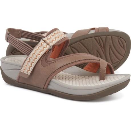 21895b133744 Baretraps Danique Wedge Sport Sandals (For Women) in Mushroom