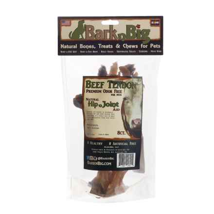 BarknBig Beef Tendon Hip N Joint Aid Dog Treats - 8-Count in See Photo - Closeouts
