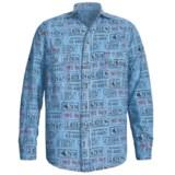 Barn Fly Trading Print Shirt - Long Sleeve (For Men)