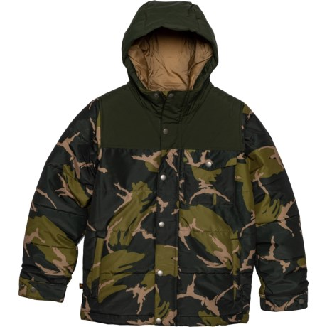 Barnone Jacket - Waterproof, Insulated (For Boys) - MOUNTAIN CAMO/RESIN (L ) thumbnail