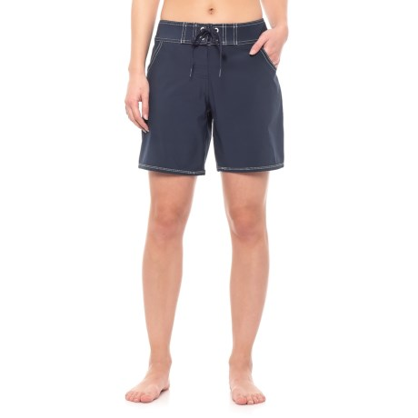 Image of Barracuda Mid-Length Boardshorts (For Women)