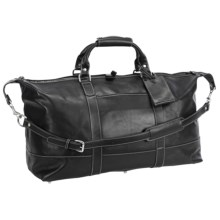 Barrington Captain's Bag- Leather in Black - Closeouts