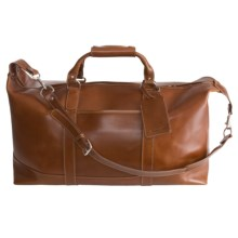 Barrington Captain's Bag- Leather in Tan - Closeouts