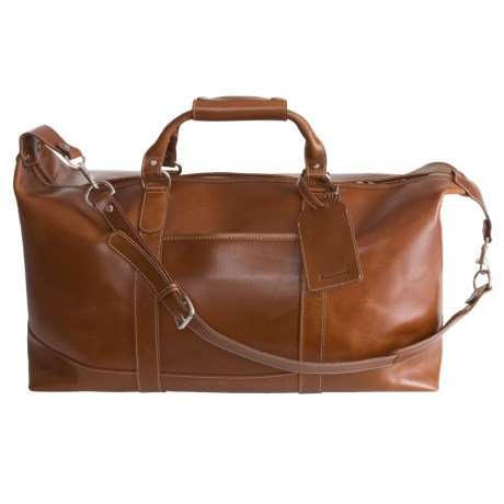 Barrington Captain's Bag- Leather in Tan
