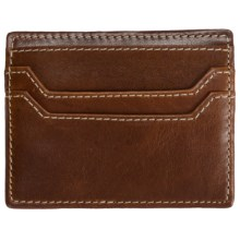 Barrington Covington Slim Card Case - Leather in Tan - Closeouts