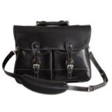 "Barrington Leather Burke & Willis Briefcase - 15"" Laptop"