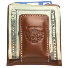 Barrington Original Money Clip - Leather in Tan - Closeouts