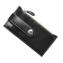 Barrington The Kensington Snap Wallet - Leather in Black - Closeouts