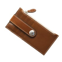Barrington The Kensington Snap Wallet - Leather in Tan - Closeouts