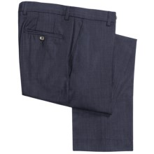 Barry Bricken Fancy Wool Pants (For Men) in Navy Tic - Closeouts