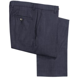 Barry Bricken Fancy Wool Pants (For Men) in Navy Tic