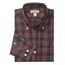Barry Bricken Plaid Sport Shirt - Button Down, Long Sleeve (For Men) in Red - Closeouts