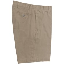 Barry Bricken Shorts - Cotton Twill (For Men) in Khaki - Closeouts