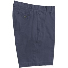 Barry Bricken Shorts - Cotton Twill (For Men) in Navy - Closeouts
