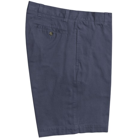 Barry Bricken Shorts - Cotton Twill (For Men) in Navy