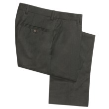 Barry Bricken Wool Flannel Dress Pants (For Men) in Olive - Closeouts