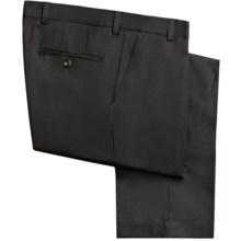 Barry Bricken Wool Gabardine Pants (For Men) in Black - Closeouts