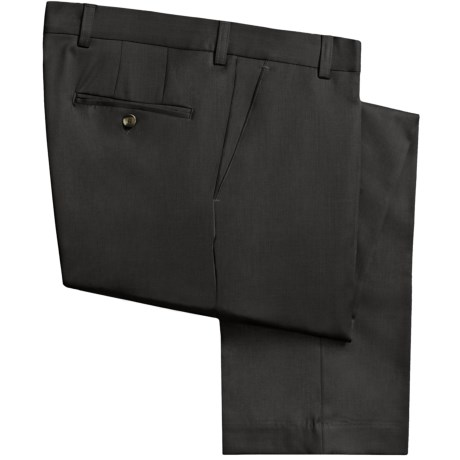 Barry Bricken Wool Gabardine Pants (For Men) in Olive