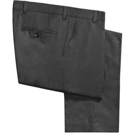 Barry Bricken Wool Gabardine Pants (For Men) in Black