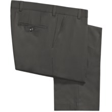 Barry Bricken Wool Gabardine Pants (For Men) in Charcoal - Closeouts