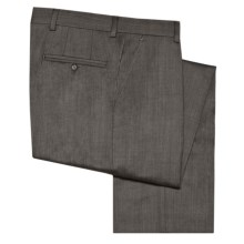 Barry Bricken Wool Gabardine Pants (For Men) in Med Grey - Closeouts