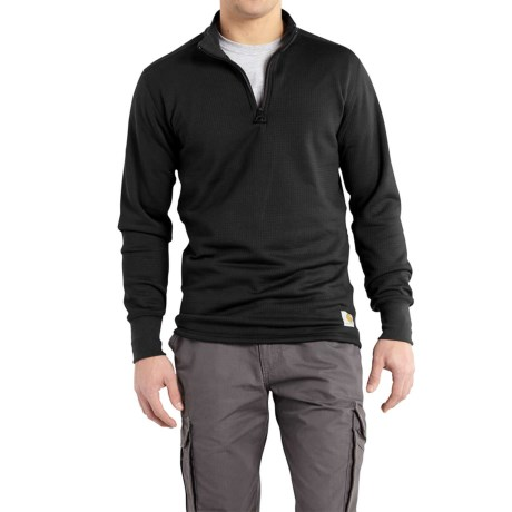 Image of Base Force(R) Super Cold Weather Shirt - Zip Neck, Long Sleeve, Factory Seconds (For Men)