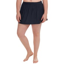 Basic Swimskirt (For Plus Size Women) in Navy - 2nds