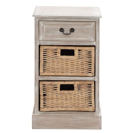 Image of Basket Side Table - 28x16x12?