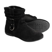 Bastien Britanie Boots - Suede (For Women) in Black - Closeouts