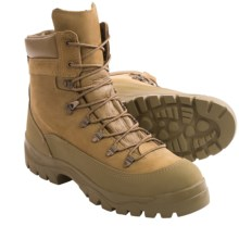 """Bates Temperate Weather Gore-Tex® Combat Hiker - Waterproof, 8"""" (For Men and Women) in Olive Mojave - 2nds"""